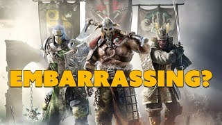 For Honor Comeback Celebration EMBARRASSING? - The Know Game News
