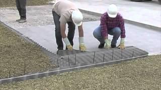 DuPont™ Plantex® GroundGrid® - Flexible Geocells for Gravel Surfaces Stabilization