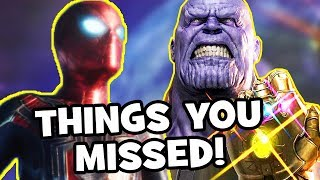 AVENGERS INFINITY WAR Trailer Easter Eggs, Infinity Stones & Things You Missed (FULL ANALYSIS)