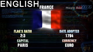 France -  Western Europe- Flags Of The World - Pre School-Animation Videos For Kids