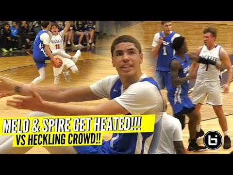 LaMelo Ball GETS SUPER HEATED vs TRASH Talking Team & Makes Them Pay w CRAZY TRIPLE DOUBLE