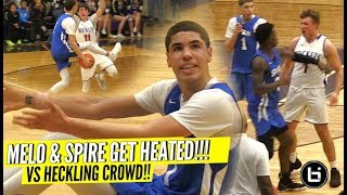 LaMelo Ball GETS SUPER HEATED vs TRASH Talking Team & Makes Them Pay w/ CRAZY TRIPLE DOUBLE!!!