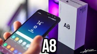 Samsung Galaxy A8 : Déballage et Prise en Main ! 📦