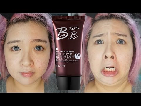 Mizon Snail Repair BB Cream First Impression Video (lol mega fail)