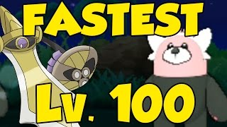 NEW FASTEST LEVEL 100 IN POKEMON SUN AND MOON - Best Exp in Pokemon Sun and Moon