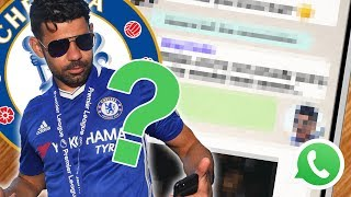 Diego Costa Argument With Antonio Conte Leaked On WhatsApp!*