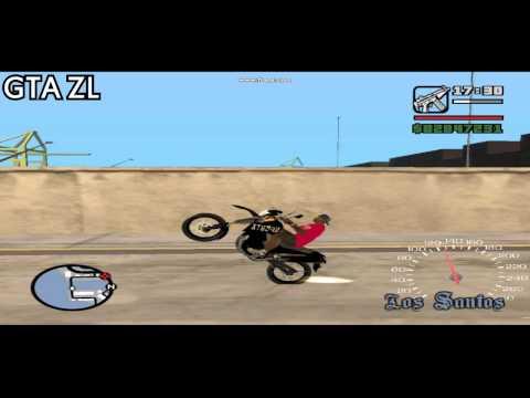 Role de xt 660 no Gta Sanandreas GTA ZONA LESTE
