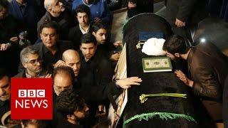 Iran Rafsanjani death: Huge crowds at ex-president