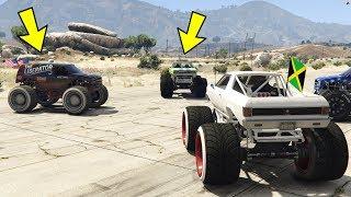 ماذا لو تحديت في السيارات العملاقة !