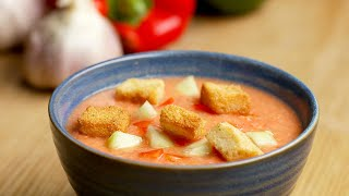 Healthy Homemade Gazpacho To Cool You Off