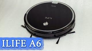Робот пылесос Ilife A6 – тонкий и стильный домашний помощник