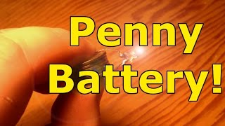 How to make a Homemade battery from pennies