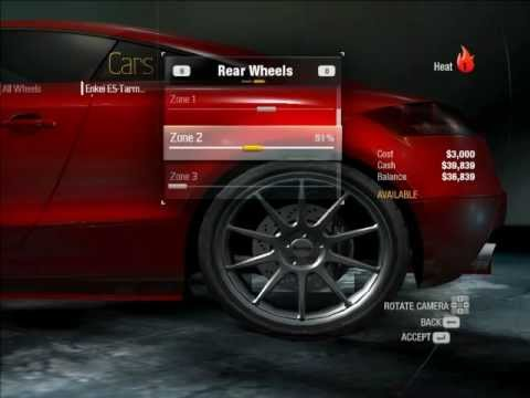 Need For Speed Undercover Customization Tuning Car
