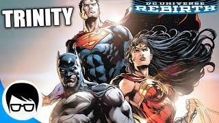 BATMAN, SUPERMAN Y WONDER WOMAN VIAJAN AL PASADO   Trinity Rebirth #1-6   COMIC NARRADO