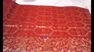 Top 16 Red Jamdani Shari