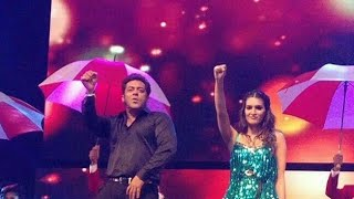 Kriti Sanon Performance with Salman Khan at Da-bangg The Tour 2017 | Sonakshi Sinha, Prabhu, Dabangg