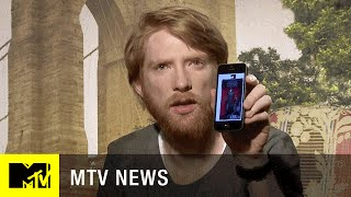 Domhnall Gleeson Either Has a Cool 'Star Wars' Action Figure or a Mean Friend | MTV News