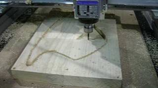 CNC Router Guitar Body Manufacturing