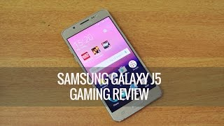 Samsung Galaxy J5 (2016) Gaming Review (with Heating Test)