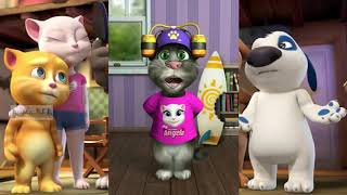 1 Happy New Year best wishes for friends   talking tom cat   YouTube