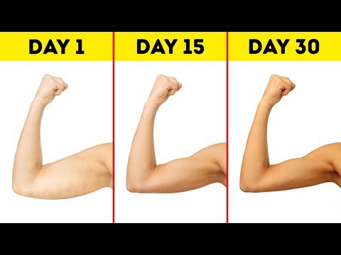5-Minute Workout to Lose Arm Fat in a Month