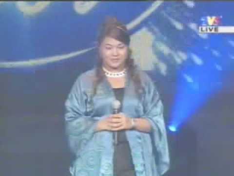 Dina - Gemilang (Malaysian Idol 1 Finale)