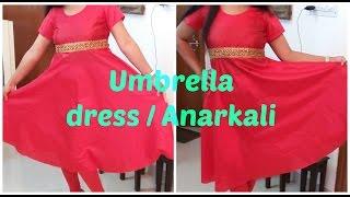 Umbrella Dress / Anarkali | DIY