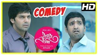 Raja Rani Tamil Movie Comedy Scenes | Part 1 | Arya | Santhanam | Nayanthara | Nazriya | Jai | Atlee