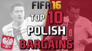 TOP 20 POLISH BARGAINS | FIFA 16 Career Mode