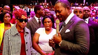 AMAZING. God used Pastor Alph to heal a BLIND LADY while the church watched