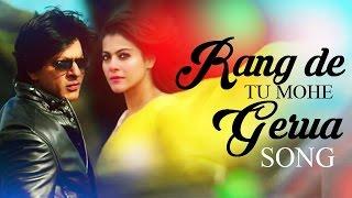 Rang De Tu Mohe Gerua VIDEO Song ft. Shahrukh Khan, Kajol Releases | Dilwale