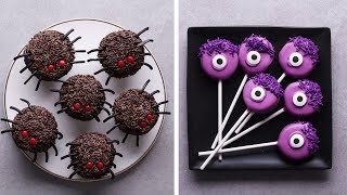 Last Minute Halloween Treats | Halloween Recipes | DIY Easy Halloween Treats by So Yummy