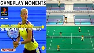 Anna Kournikova's Smash Court Tennis - Gameplay Moments PSX HD