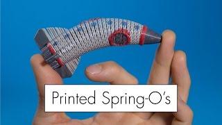 3D Printing Springos (Not Slinkys!) // Fusion360 Tutorial