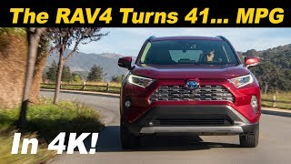 2019 Toyota RAV4 Hybrid - The Fuel Sipping CUV