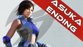Tekken Tag Tournament 2 Ending | Asuka Kazama Ending Clip HD