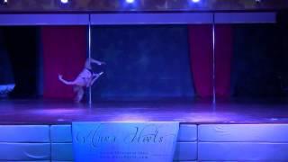 Tricia - Erotic Pole Dance World Championships - Hedonism II