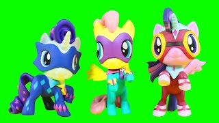 My Little Pony Power Ponies Series 4 Surprise Toy Blind Bag Mystery Minis Case Opening