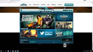 How to Download and Install Paladins