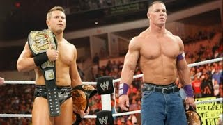 John Cena & The Miz win (and lose) the WWE Tag Team Championship: Raw, Feb. 21, 2011
