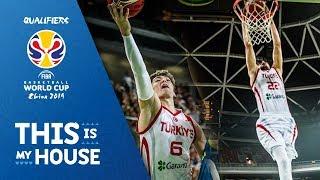 Cedi Osman & Furkan Korkmaz Top Plays vs. Slovenia - Highlights 2018 - European Qualifiers