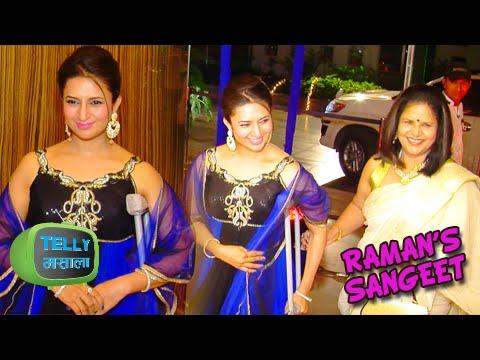 Ishita aka Divyanka Tripathi At Raman aka Karan Patel's Sangeet Ceremony