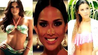 Paulina Vega,  Ariadna Gutierrez & Andrea Tovar
