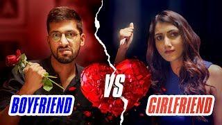 Girlfriend Vs Boyfriend - Rapbaazi   Valentine's Day Special   Being Indian
