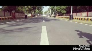 Normal bicycle stunts by Manjot Jatt