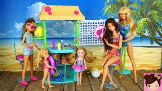Barbie & Her Sisters fun day at the beach - Barbie Temporary Tattoo Toy