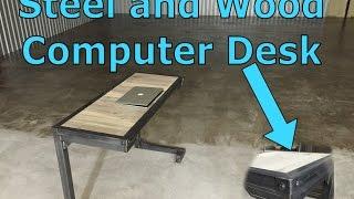 Custom Furniture - Steel+Wood Industrial Computer Desk - Dallas, TX 75201