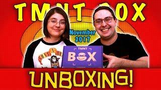 UNBOXING! TMNT Box November 2017 -  Teenage Mutant Ninja Turtles