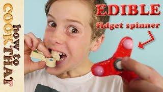 Best Fidget Spinner TRICKS & how to make EDIBLE fidget spinner
