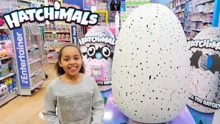 NEW HATCHIMALS Giant Surprise Egg - Magical Animal Pets Hatch From Eggs - Press Launch